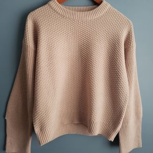 Topshop Knit sweater wide sleeves Size 4 US